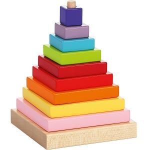Пирамидка Cubika, 9 деталей Attipas