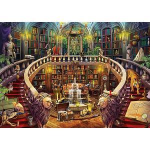 Пазл  Старая библиотека, 500 элементов Educa