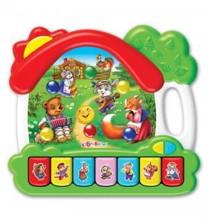 Интерактивная игрушка  Домик Сказки 23 см Азбукварик
