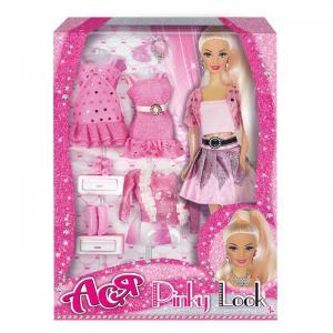 Кукла Ася Блондинка в розовом Розовый стиль Toys Lab
