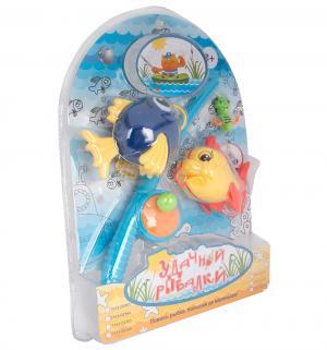 Игровой набор  Удачной рыбалки, синий/желтый Tongde