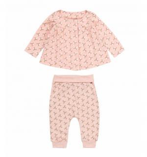 Комплект кофта/брюки , цвет: розовый Artie