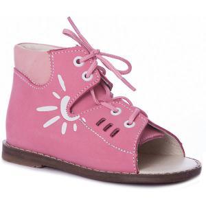 Сандалии  для девочки Тотто. Цвет: розовый