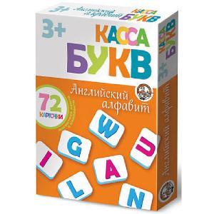Касса букв на магнитах Английский алфавит 72 эл (мягк.) Десятое королевство