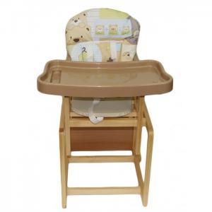 Стульчик для кормления  Мишутка с пластиковым столом Globex
