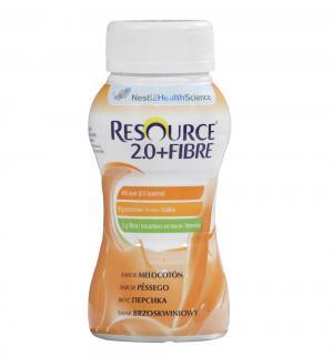 Молочная смесь  Resource 2.0 + Fibre Персик специализированный продукт профилактического питания с 3 лет, 200 г Nestle