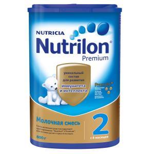 Молочная смесь  Premium 2 6-12 месяцев, 800 г Nutrilon