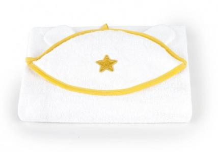 Полотенце с капюшоном Звездный 75х100 см Золотой Гусь