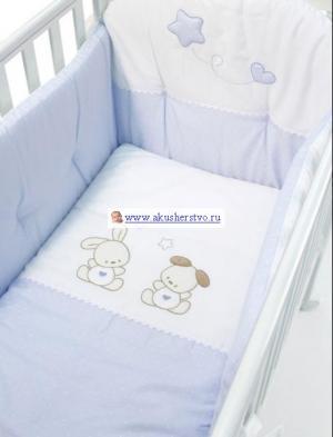 Комплект в кроватку  Dolce Stellina (4 предмета) Bambolina