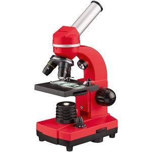 Микроскоп  Junior Biolux SEL, 40–1600x, красный Bresser. Цвет: красный