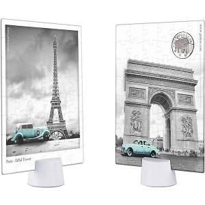Двухсторонний пазл  Отпуск в Париже, 48 элементов Pintoo