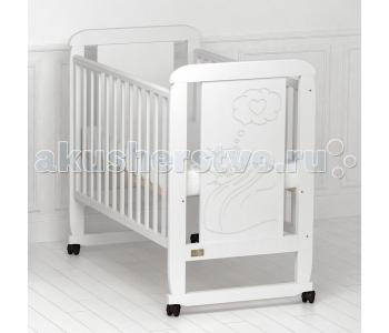 Детская кроватка Kitelli Amore качалка (Kito)