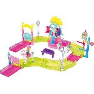 Набор с куклой Barbie В движении Парк аттракционов Mattel