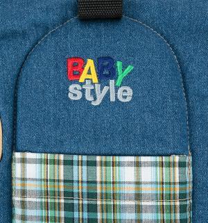 Рюкзак-кенгуру, цвет: синий Babystyle