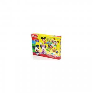 Набор для лепки  Клуб Микки Мауса 3D галерея (масса - 5 цв) Disney
