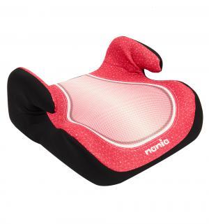 Автокресло-бустер  Topo Comfort, цвет: красный/черный Nania