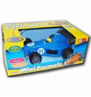 Машинка на радиоуправлении  Mini Formula 1 (со световыми и звуковыми эффектами) синяя Bebelino