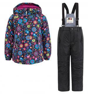 Комплект куртка/полукомбинезон , цвет: черный Fobs
