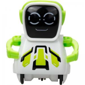 Интерактивный робот  Покибот 7.5 см цвет: зеленый Silverlit