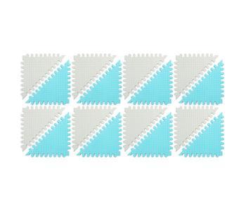 Игровой коврик  без изображений Треугольники, толщина 15 мм KB-070-16-TS FunKids