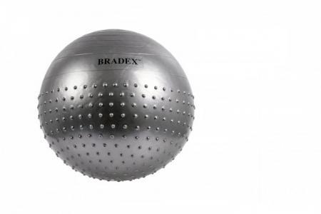 Мяч для фитнеса полумассажный Фитбол-75 Bradex
