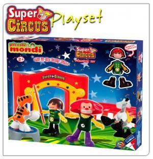 Конструктор  Mondi Super Circus Playset Plastwood
