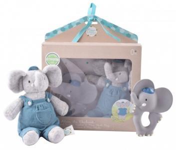 Мягкая игрушка  Подарочный набор Слоник Alvin прорезыватель и MaiyaandAlvin