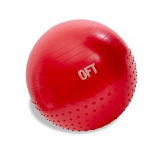 Гимнастический мяч 65 см с массажным эффектом Original FitTools
