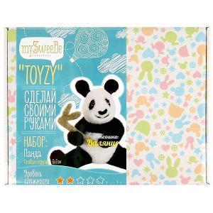 Набор для валяния Toyzy Панда. Цвет: разноцветный