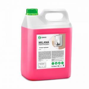 Жидкое крем-мыло Milana спелая черешня 5 кг Grass