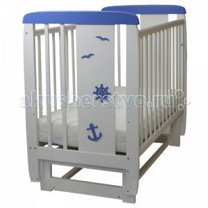 Детская кроватка  04 Юнга (поперечный маятник) Соня