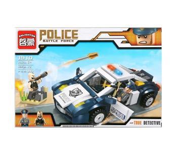 Конструктор  Машина Полиция с фигурками и аксессуарами (303 детали) Enlighten Brick