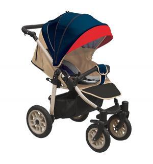Прогулочная коляска  Eos, цвет: темно-синий/красный Camarelo