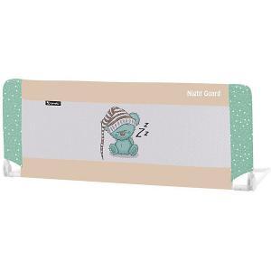 Защитный барьер для кроватки  Night Guard, бежево-зелёный Lorelli