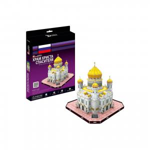 Пазл 3D Храм Христа Спасителя (Россия), CubicFun