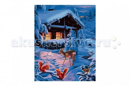 Картина по номерам Романтическая зимняя ночь 40х50 см Schipper
