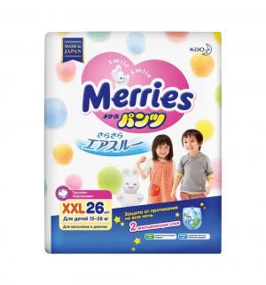 Подгузники-трусики  ночные XXL (15-28 кг) 26 шт. Merries