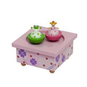 Музыкальная шкатулка Wooden Box Принцесса и лягушка Trousselier