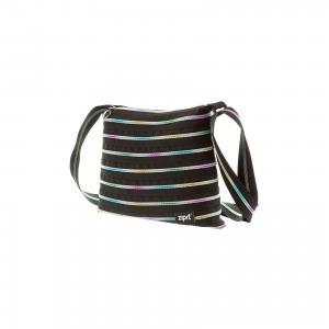 Сумка Medium Shoulder Bag, цвет черный/мульти Zipit