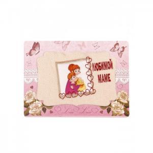 Полотенце махровое в подарочной упаковке Любимой маме 40x70 Dream Time
