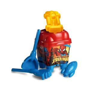Набор игрушек для песочницы  Человек-Паук Unice. Цвет: красный