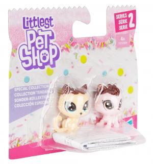 Игровой набор  Зефирные петы Кошечки 4 см Littlest Pet Shop