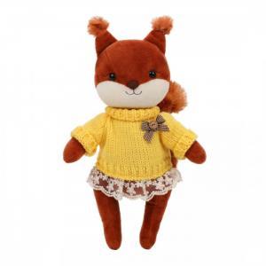 Мягкая игрушка  Белочка Белль в свитере Angel Collection