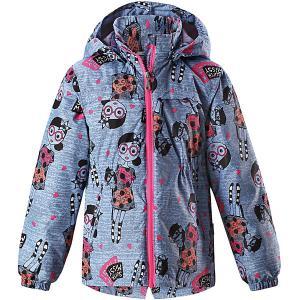 Куртка  для девочки Lassie. Цвет: синий