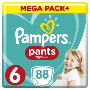 Трусики  Pants 6 размер (15+ кг) 88 шт. Pampers