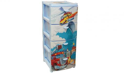 Комод  Спасатели М-Пластика