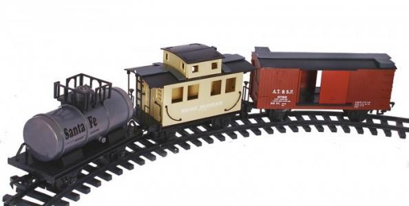 Радиоуправляемая железная дорога Black Canyon Express 33 части Eztec