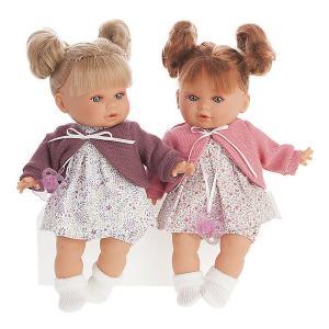 Кукла Juan Antonio Munecas Монси в фиолетовом, 30см.. Цвет: фиолетовый