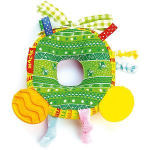 Игрушка-подвеска  Бублик с прорезывателем Macik. Цвет: разноцветный