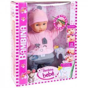 Кукла-пупс Bambina Bebe Мой первый зуб 46 см Dimian
